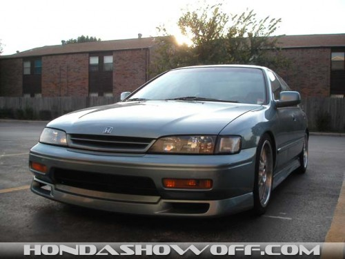 Accord (94-95 front Spoiler FIT a 96/97)? Would an older ...